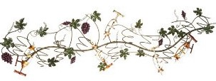wine-gifts-grapes,-leaves-&-corkscrews-wall-mount-wine-rack-cbk-glc-324