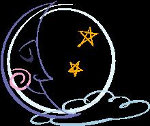sleeping moon.2