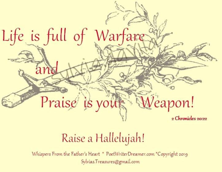 praise is your weapon.Halleluja_InPixio